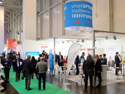 e-worls Messestand smartoptimo
