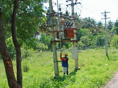 Infrastrukturprojekt in Indien