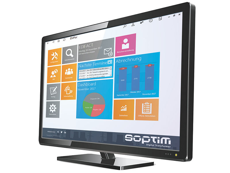 Soptim EMR Screen Monitor, MaBiS