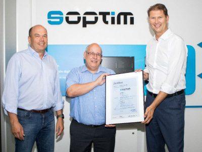 Soptim erhält ISO-Zertifizierung
