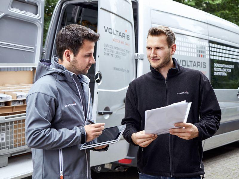 Das VOLTARIS Gerätemanagement garantiert den Stadtwerken qualitätsgesicherte Hardware und hohe Lieferflexibilität