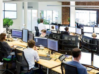 Virtuelle Kraftwerke - Tradingfloor