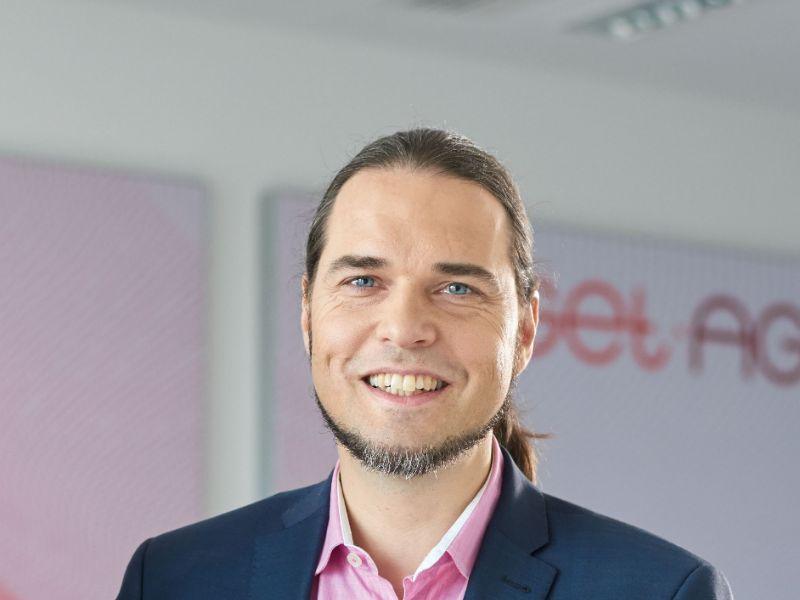 Lars Quiring, Vorstand der GET AG