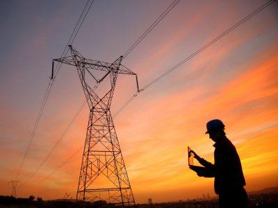 Strommast Hochspannungsleitung Mehrwertdienste