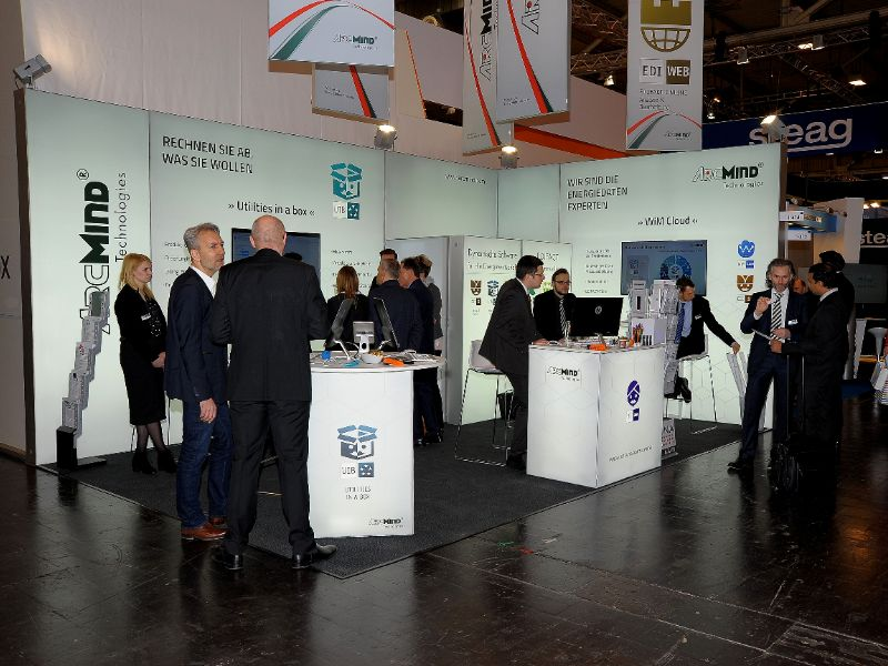 ArdMind-Messestand auf der E-world 2018