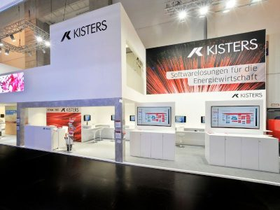 Messestand Kisters AG auf der E-world
