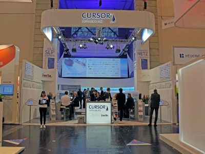 CURSOR-Messestand auf der E-world