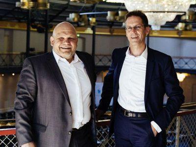 Marcus Kirchdörfer (links) und Dr. Hartmut Ritter bilden die Geschäftsführung von Minol ZENNER Connect
