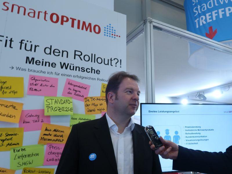 Dr. Fritz Wengeler, Geschäftsführer der smartOPTIMO GmbH & Co. KG