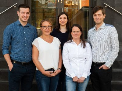 Das co.read-Team bei co.met