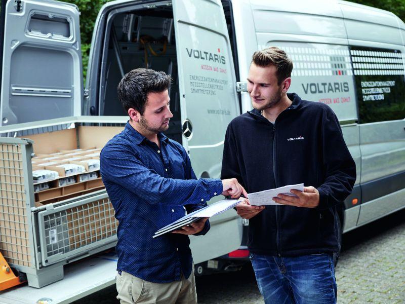 Voltaris Sichere SMGW-Logistikkette