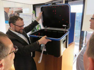 Transportboxen spielen eine Hauptrolle in der Sicheren Lieferkette für Smart Meter Gateways