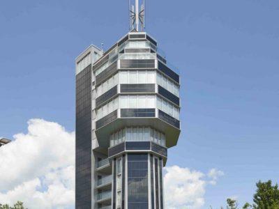 Bauherren aus Radolfzell haben einen alten Wasserturm in ein Energiesparhotel umgebaut.