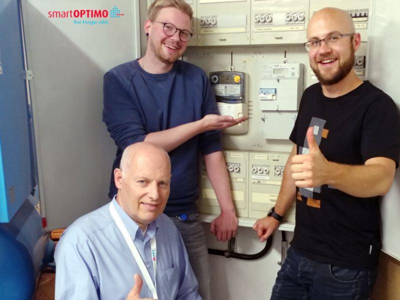 Erstes zertifizierts Smart Meter Gateways bei smartOPTIMO verbaut