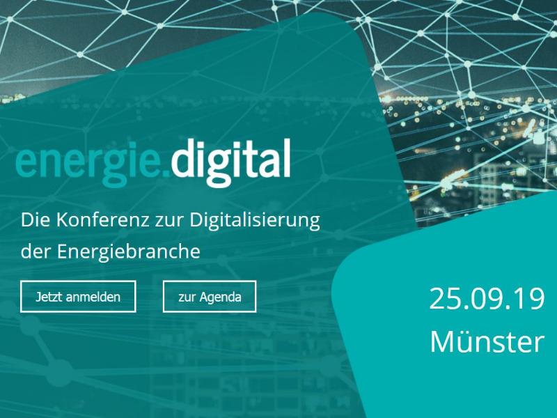 Digitalisierung energie.digital 2019 von amexus