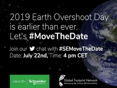 Earth Overshoot Day Schneider Electric