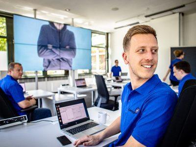 Blick ins Cyber-Range-e Trainingszentrum für Cyber-Sicherheit