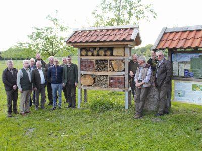 Zukunftspreis-Bewerber: Insektenhotels des Biotop-Fonds der Jägerschaften Emsland / Grafschaft Bentheim e.V