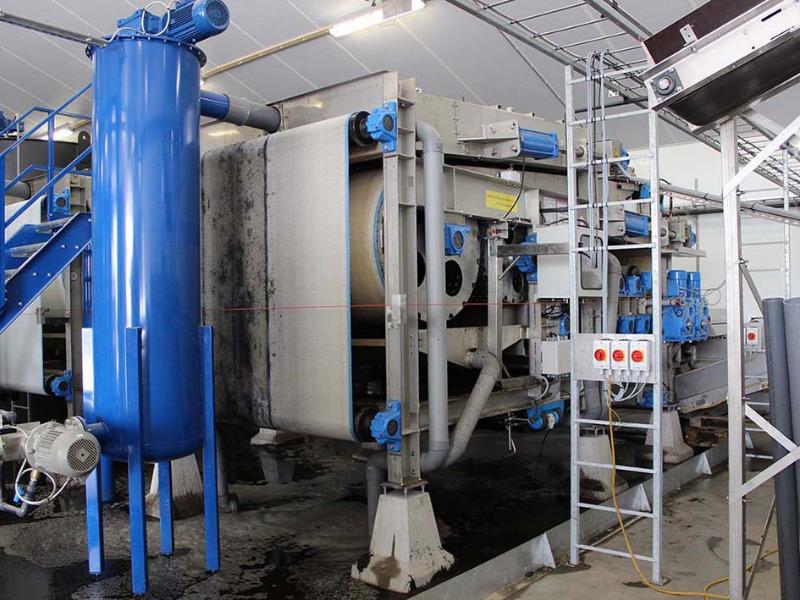 Kumac-Aufbereitungsanlage von WELTEC BIOPOWER