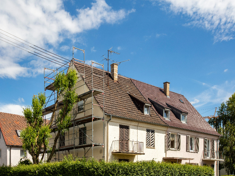 Energetische Sanierung älterer Wohngebäude