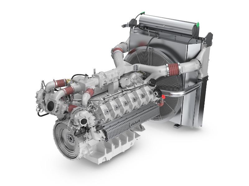 Gasmotor MAN E3262 LE252 von MAN Engines
