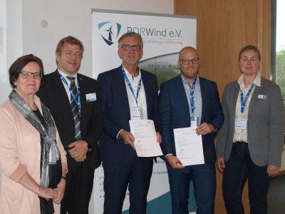 RDRWind und VGB PowerTech arbeiten bei Repowering, Demontage und Recycling von alten Windenergie-Anlagen zusammen
