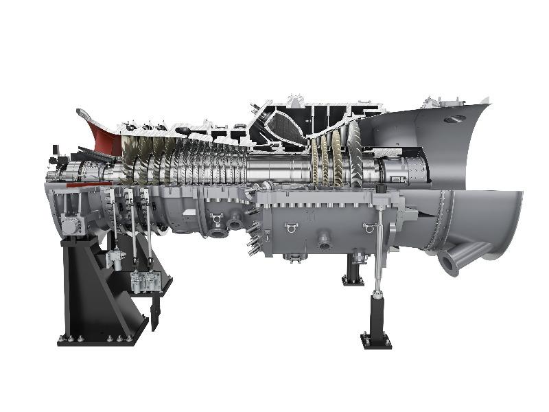Gasturbine SGT5-4000F von Siemens für GuD-Kraftwerk