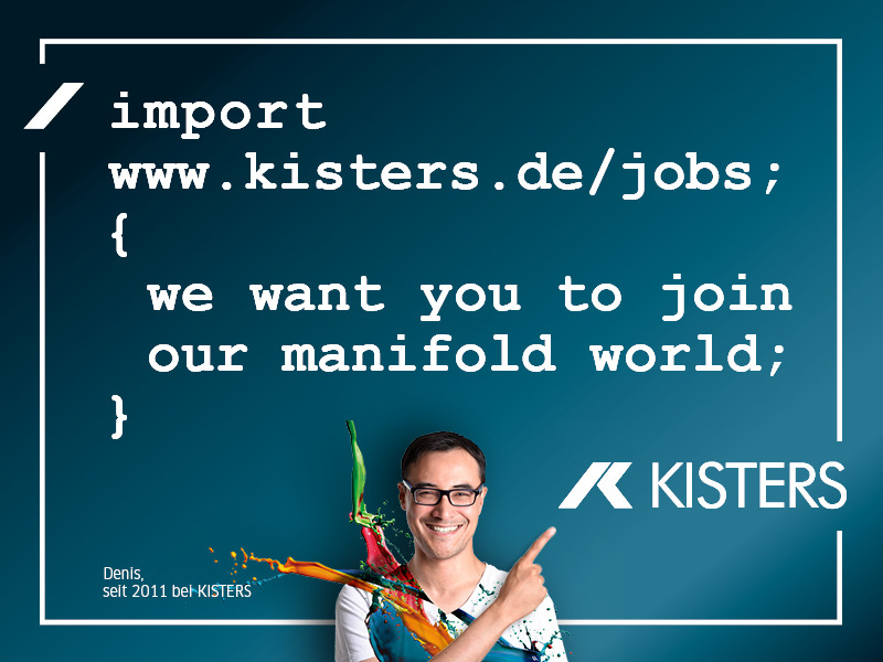 KISTERS AG sucht Webentwickler für Big Data am Standort Oldenburg