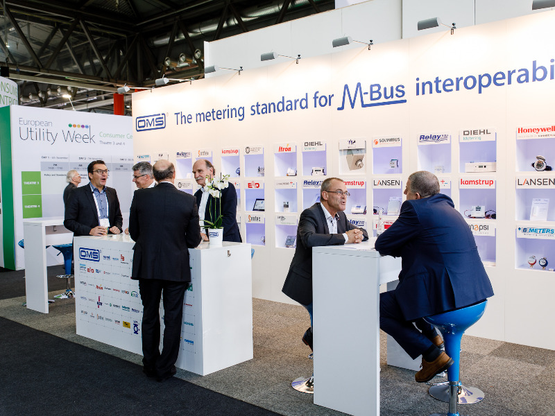 OMS-Messestand