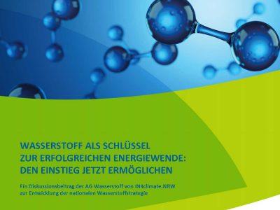 Diskussionspapier der Initiative IN4climate.NRW - Wasserstoff