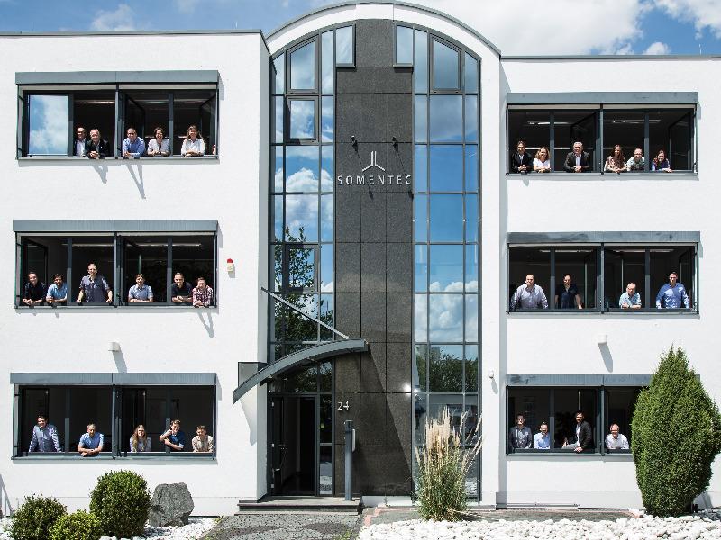 Somentec-Unternehmensgebäude