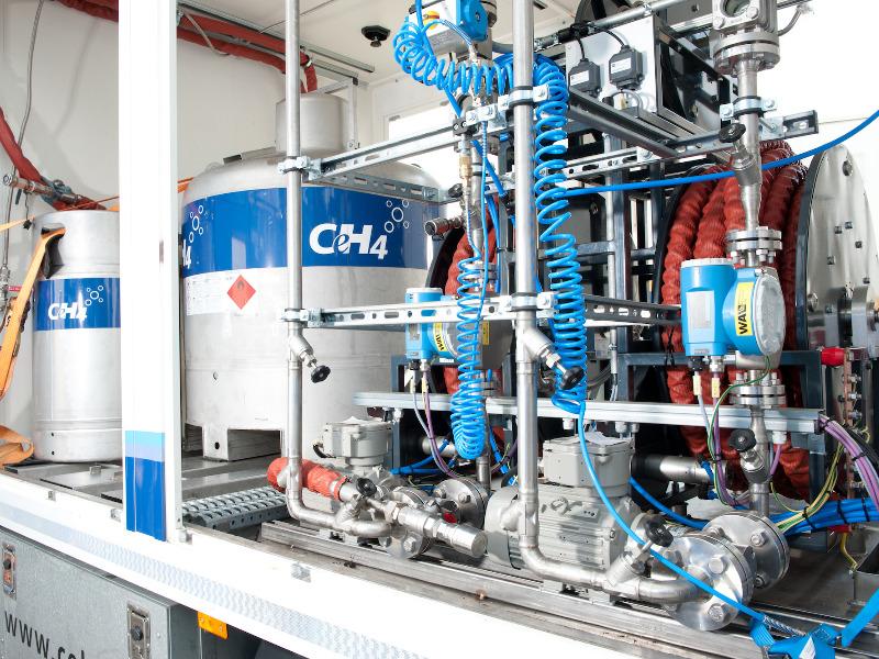 Gasanlagen Odor-Befüllfahzeug von CeH4