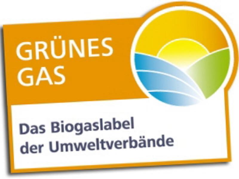 Grüner Strom Label e.V. zertifiziert Biogas