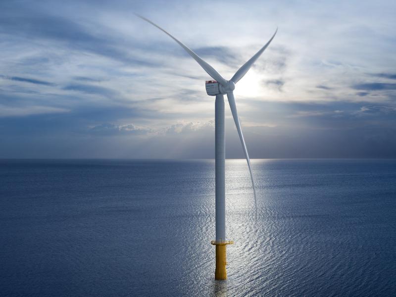Windturbine von Siemens Gamesa