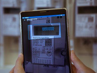Messwertebeschaffung mit der Zählerscan-App von Anyline