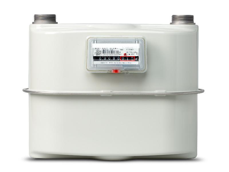 Prototyp Zweirohr-Balgen-Gaszähler von ZENNER