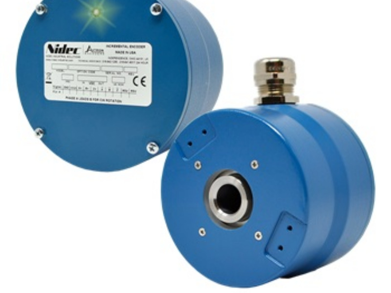 Hochleistungs-Encoder von Nidec Industrial Solutions