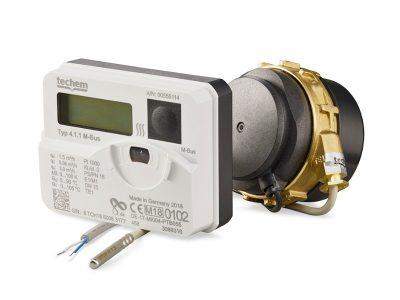 EED Messkapsel-Wärmezähler von Techen