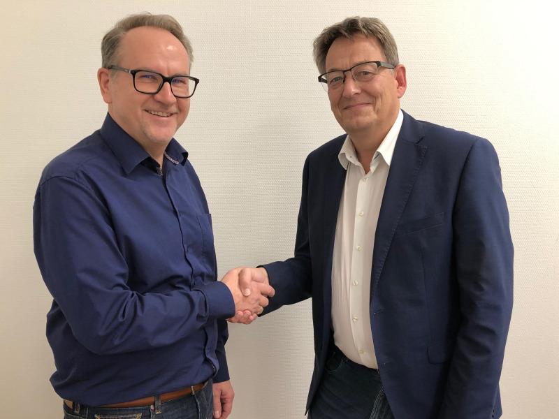 Ralf Gerbershagen und Otto Smits planen Smart City-Projekte