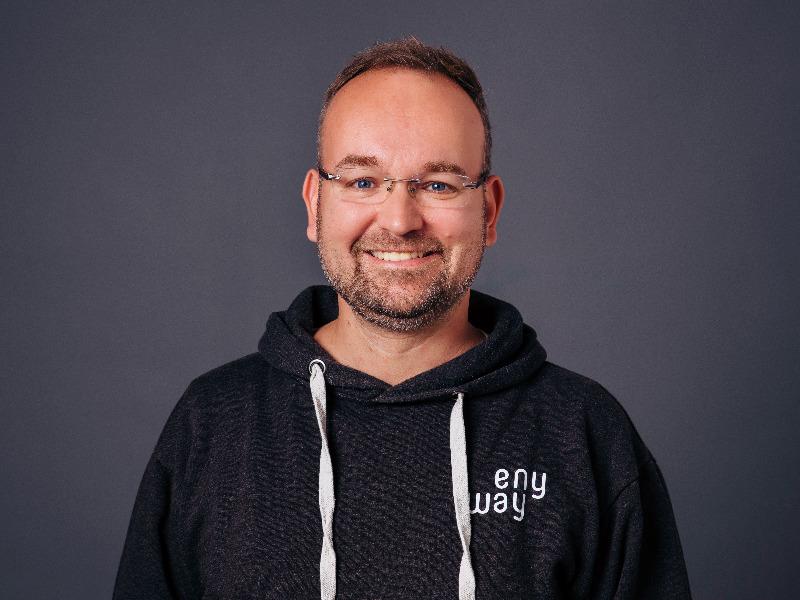 Andreas Rieckhoff, Geschäftsführer enyway
