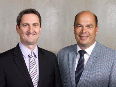 Neu im SOPTIM-Vorstand: Bert Goetting und Christoph