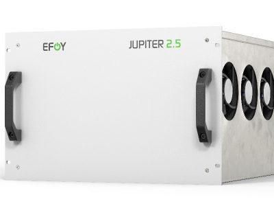 Jupiter-System mit Ballard FCgen 1020ACS Brennstoffzellen-Stacks.