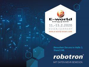 Robotron auf der E-world 2020