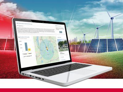 KISTERS entwickelt Community-Plattform zur Vermarktung von Regionalstrom