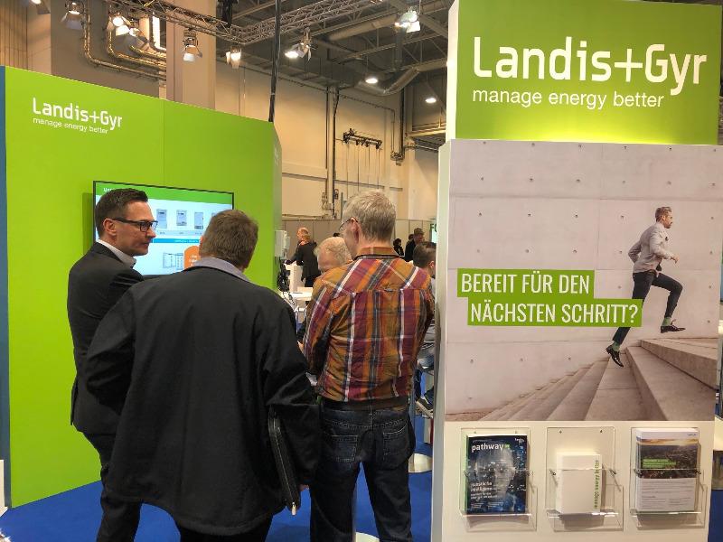 Landis+Gyr auf der E-world