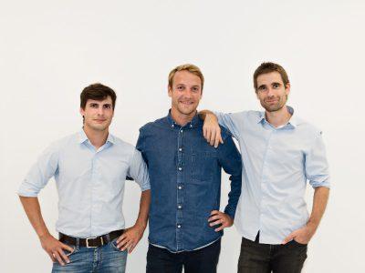 Quentin Le Brouster, Thibaud Hug de Larauze und Vianney Vaute haben CO2NSCIOUS erfunden