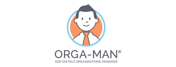 ORGA-MAN Logo der Applikation