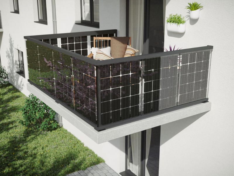 Solarstrom vom Balkon