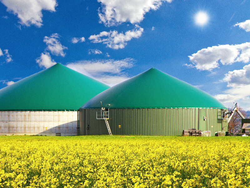 Biogasstrom
