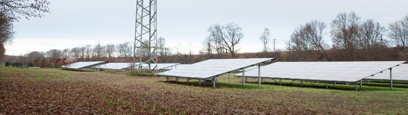 Freiflächen-Solarpark